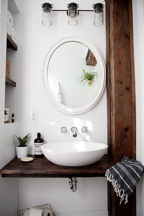 schwimmende badezimmerregale diy floating sink shelf the merrythought badezimmer