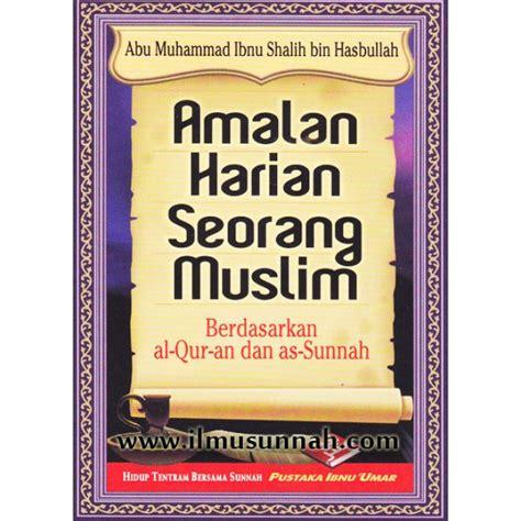 Amalan Harian Seorang Muslim Pustaka Ibnu Umar Rumah Dara buku poket amalan harian seorang muslim