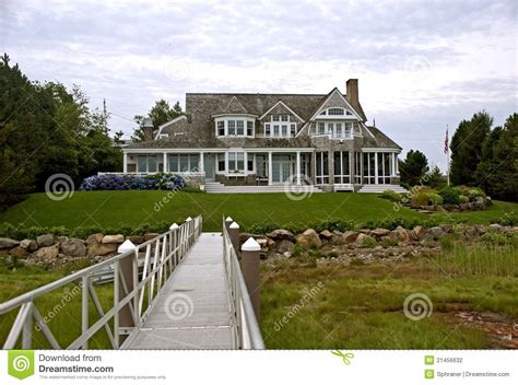 new home styles new england style house stock photo image of style