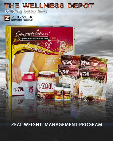 weight management zeal the wellness depot zeal for consultant