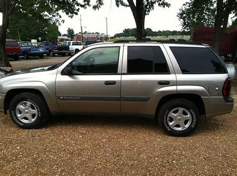 manual cars for sale 2003 chevrolet blazer transmission control sell used 2003 chevrolet trailblazer ls sport utility 4 door 4 2l in senatobia mississippi