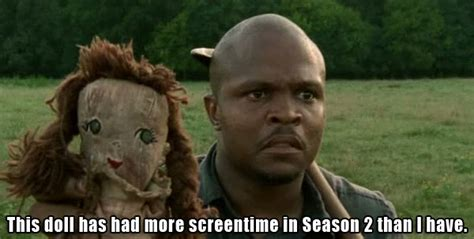 T Dogg Walking Dead Meme - fangs for the fantasy to t dog in memoriam