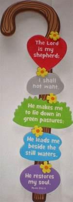 christian crafts for children petersham bible book tract depot shepherd s staff craft kit