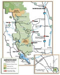 northern california forest service maps images