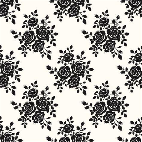 Black Pattern Rose | black roses seamless patterns vector graphics seamless