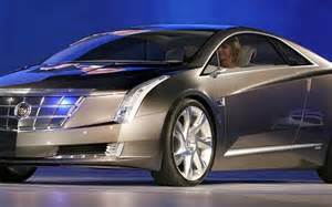 Cadillac Electric Coupe Cadillac Converj Concept Electric Car Charges Up 2009
