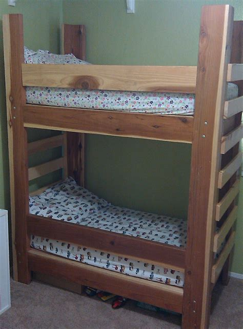 Toddler Bunk Beds Plans Toddler Bunk Bed Plans With Stairs 187 Woodworktips