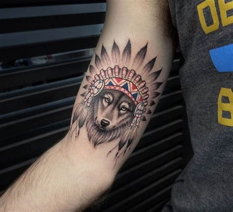 wolf headdress tattoo best 25 headdress ideas on
