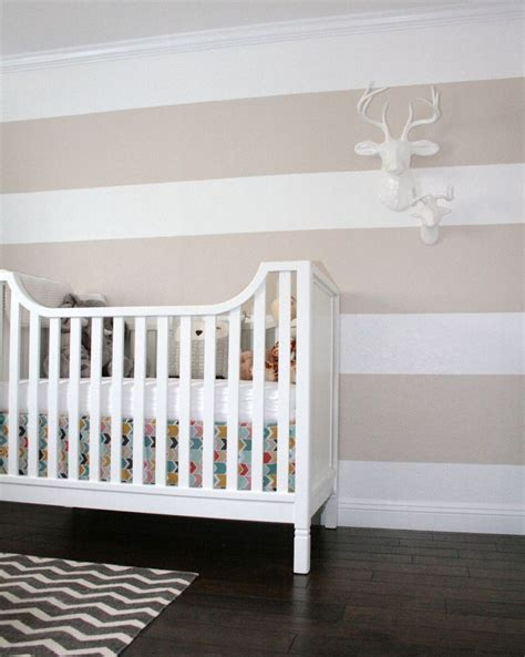 striped walls baby james nevins s nest striped walls chevron and