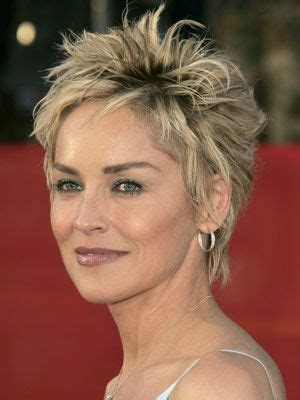 haircut on thin haut images 12 impressive sharon stone short hairstyles pretty designs