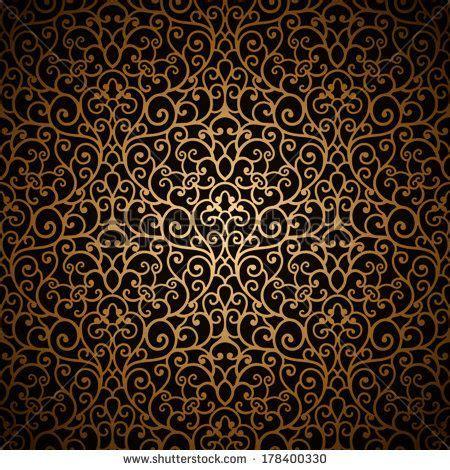 gold vintage pattern background pinterest the world s catalog of ideas