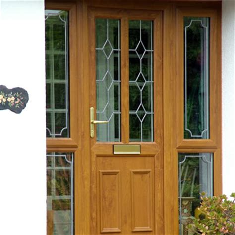 upvc front door designs oak doors oak upvc front doors