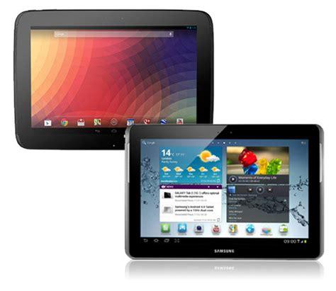 Samsung Galaxi Tab 2 V nexus 10 vs samsung galaxy tab 2 10 1 comparison review pc advisor
