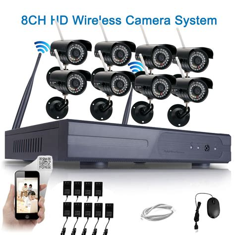 outdoor security systems wifi 720p wireless cctv nvr outdoor ir cut security ip