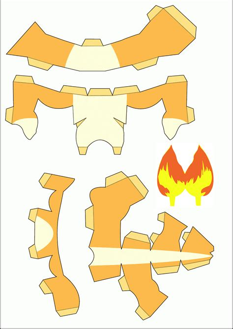 Free Papercraft Templates To - free papercraft templates images