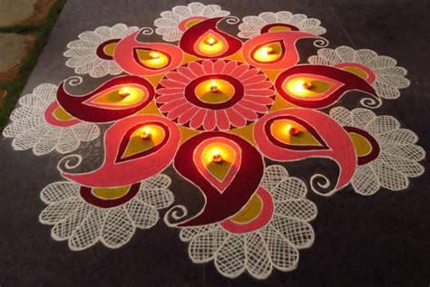 Home Decoration In Diwali by Diwali 2017 Easy Rangoli Patterns And Designs To Enhance