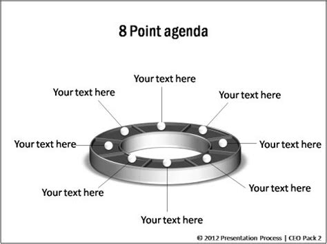 powerpoint agenda  ceo pack