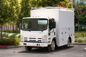 Isuzu Npr Box Truck Isuzu Box Truck Back