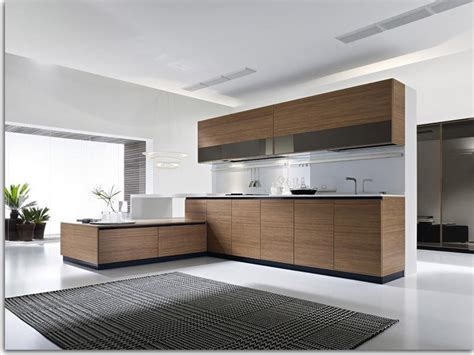 modern wood kitchen design contemporary kitchen cabinets for a posh and sleek finish