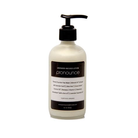 8 Lavender Infused Products by Lavender Infused Lotion Pronounce Skincare