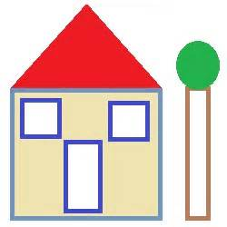 shape of house best photos of shape house template preschool house