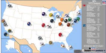 us map of nfl cities image gallery nfl us map