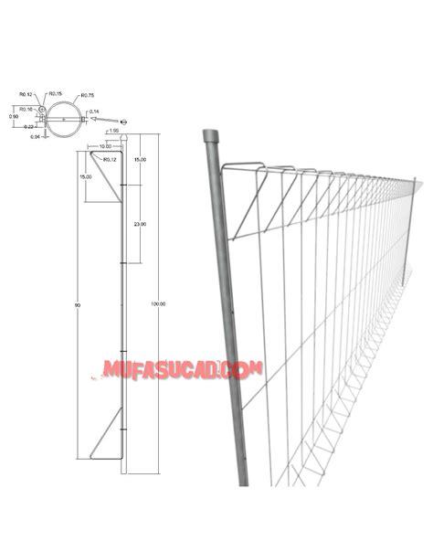 tutorial membuat gambar 3d autocad autocad 3d tutorial cara membuat pagar brc mufasucad com
