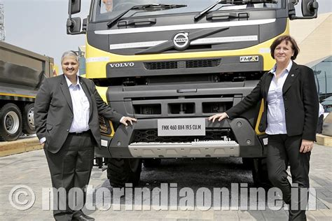 volvo construction india volvo trucks india to step up focus on construction infra