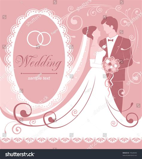Wedding And Groom Vector by Groom Gentle Wedding Background Vector Stock Vector