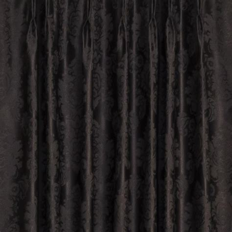black pinch pleat curtains black pinch pleat curtains 2 x pinch pleat blackout