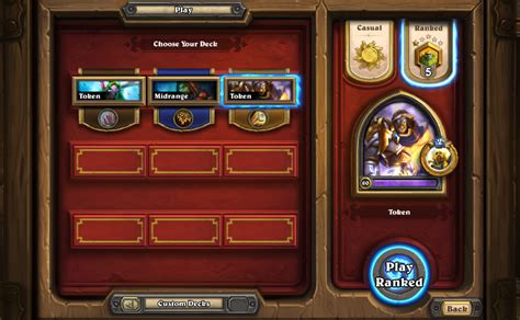 ranked shaman deck rank 20 to 1 legend in 4 days of tgt deck lists