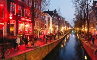 amsterdam s changing light district travel leisure