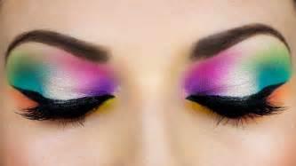 colorful makeup colorful arab makeup المكياج العربي
