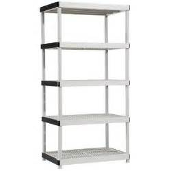 shelving at home depot 5 shelf 24 in d x 36 in w x 72 in h plastic ventilated