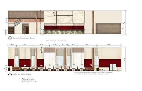 Floor Plan With Elevation And Perspective by Junior Senior Tara Schneiderinterior Design