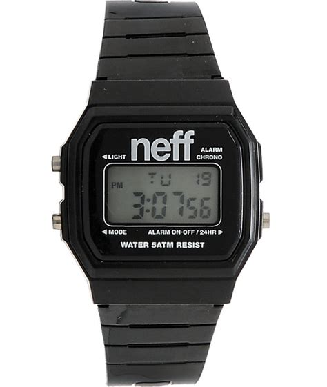 neff flava black digital