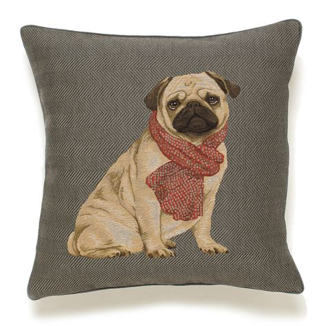 pillow pug pug tapestry pillow gump s