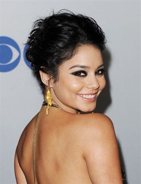 casual updos over 40 vanessa hudgens casual updo hairstyles hair style do s