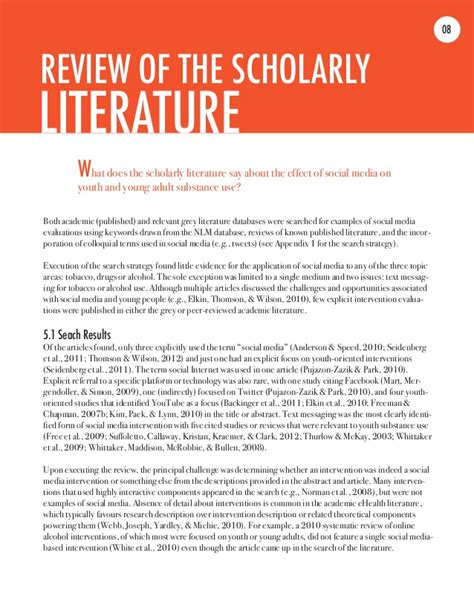 Literature Review On Promotional Activities by Literature Review On Youth