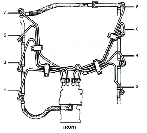 7 3 powerstroke fuel line diagram help identify something powerstrokenation ford