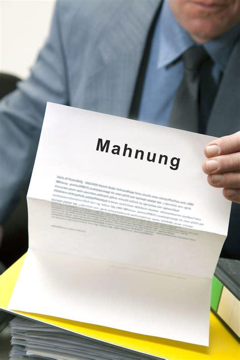 Mahnung Muster Zahlungsverzug mahnung vorlage der mustermann