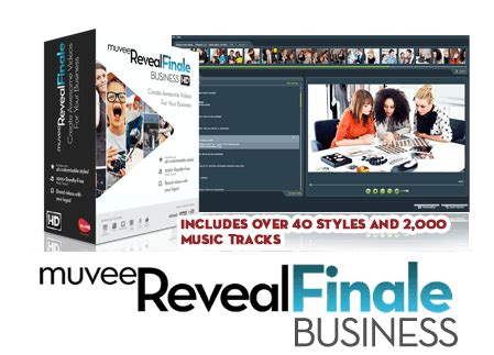 Muvee Reveal Finale Business Is An All Inclusive Package automatic editing software from muvee