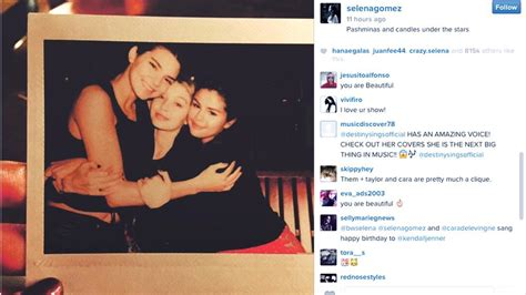 new year instagram caption spotted selena gomez and kendall jenner in dubai for new