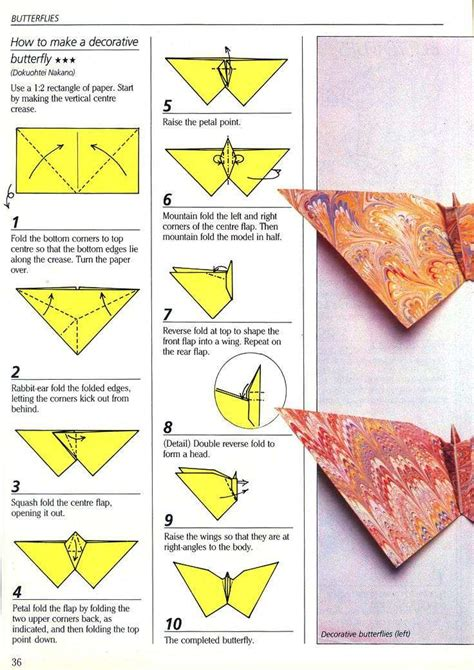 Easy Origami Butterfly For - paper butterfly erik kenneway