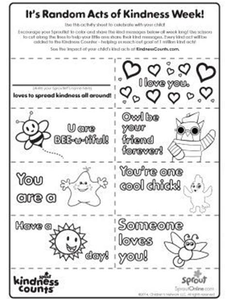 kindness week coloring pages 98 best rak images on pinterest kindness activities