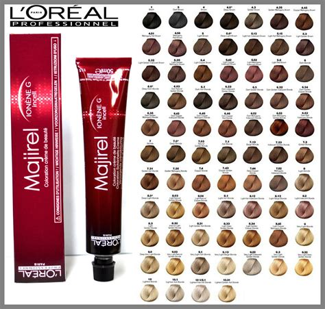 loreal majirel loreal majirel 50ml loreal l oreal professional majirel majirouge hair dye colour 50ml ebay