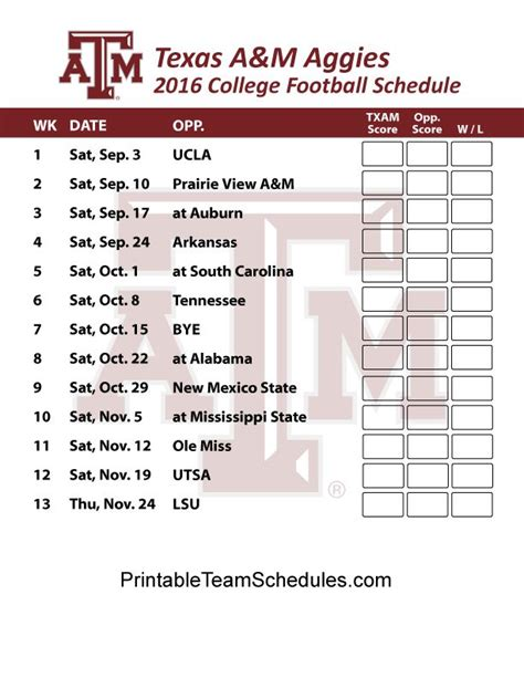 Section 1 Football Schedule by 1000 Images About Sec Football College Team Schedules On