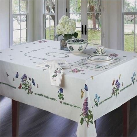 Portmerion Botanic Garden Portmeirion Botanic Garden Tablecloth Portmeirion Gardens And Tablecloths