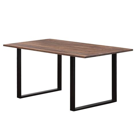 rw 2572 rustic wood and wrought iron dining table