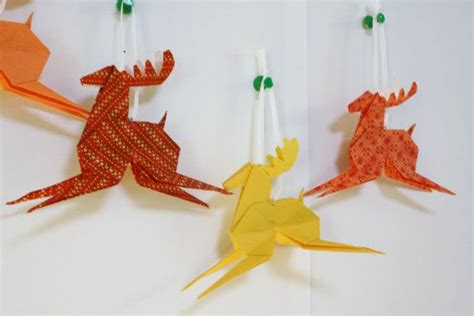 origami reindeer origami reindeer tutorial tutorials